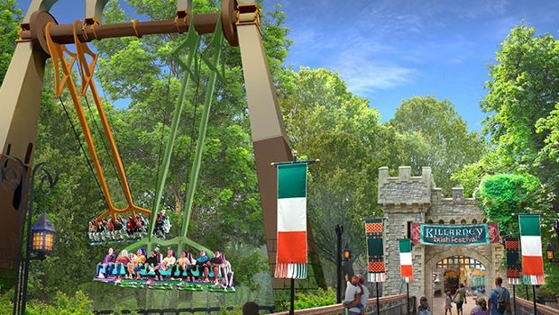 Busch Gardens Williamsburg Finnegan's Flyer neu 2019