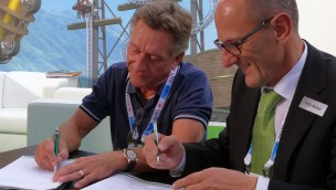 Conny-Land 2020 Neuheit Vertrag Roby Gasser Willy Walser