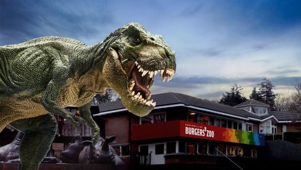 Dino im Tierpark Arnheim