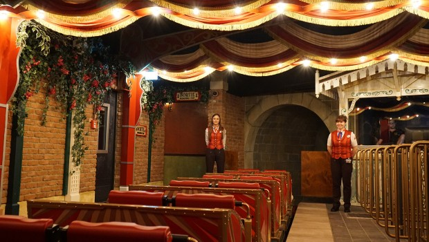 Europa-Park Eurosat cancan CoasterStation Moulin Rouge
