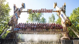 Walibi Holland Excalibur