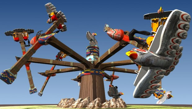 Fort Fun Abenteuerland Thunderbirds neu 2019