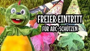 Schultütentag im Erlebnispark Schloss Thurn: Freier Eintritt für ABC-Schützen am 11. September 2018