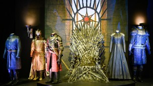 Game of Thrones-Ausstellung Eiserner Thron