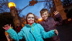 """Heide Park zu Halloween 2018 mit neuer Horror-Attraktion """"Obscuria"""" in verlassenem Parkbereich"""