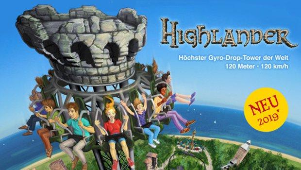 Hansa-Park Highlander Artwork