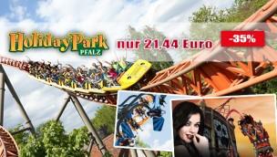 Holiday Park-Eintrittskarten mit 13 Euro Rabatt sichern: günstige 21,44 Euro mit Gutschein