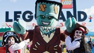 """LEGOLAND Windsor zu Halloween 2018 mit """"Brick or Treat"""" und LEGO 3D-Feuerwerk"""
