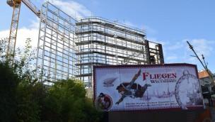 """Phantasialand: Imposante Stahlgerüste wachsen rund um neue Themenwelt """"Rookburgh"""""""