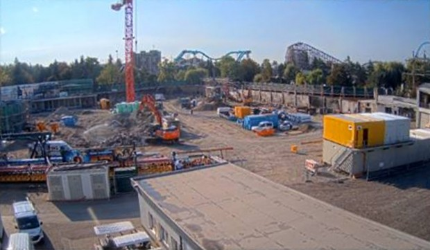 Piraten in Batavia Baustelle September 2018 Europa-Park