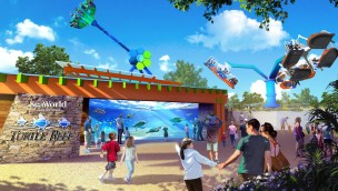 SeaWorld San Antonio 2019 Neuheiten Artwork