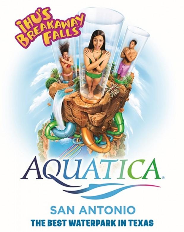 SeaWorld San Antonio Aquatica 2019 Ihus Breakaway Falls