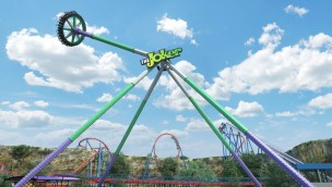 Six Flags Fiesta Texas The Joker Wild Card neu 2019