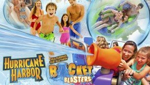 Six Flags Great Escape Bucket Blasters Hurricane Harbor 2019