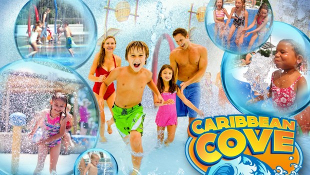 Six Flags Hurricane Harbor Concord 2019 mit Caribbean Cove
