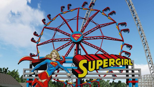 Six Flags St. Louis Supergirl 2019