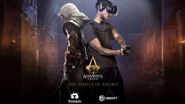 Triotech Virtual Reality Maze Assassin's Creed EAS 2018