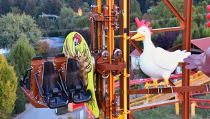 """Schwaben-Park verschiebt Eröffnung von """"Wilde Hilde"""": Neue Achterbahn erst ab 2019"""