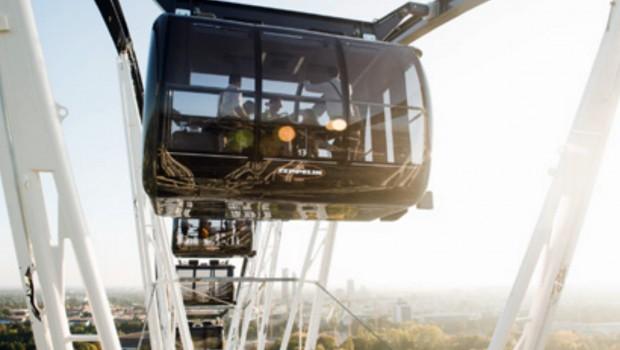 Zeppelin-Gondel Bussink Riesenrad