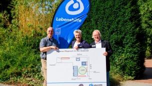 Zoo Osnabrück arbeitet mit Lebenshilfe an Pflegeraum für mobilitäts-eingeschränkte Besucher