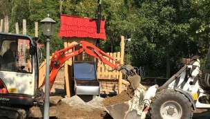 ZOOM Erlebniswelt Kletterspielplatz Erneuerung 2018