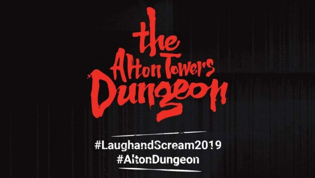 The Alton Towers Dungeon Logo
