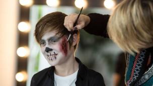 Bavaria Filmstadt Halloween-Schminken