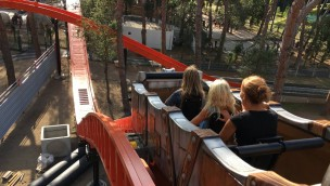 """Cavallino Matto 2018 neu mit """"Jurassic River"""": Wasser-Achterbahn mit zwei Abfahrten eröffnet"""