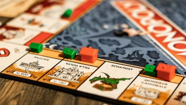 Spielbrett Efteling Monopoly