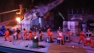 Filmpark Babelsberg Vulkan-Show Prison of Madness