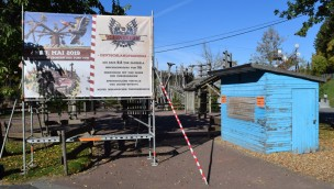 """FORT FUN Abenteuerland 2019 neu mit """"Thunderbirds"""": Hier entsteht die Überkopf-Attraktion!"""