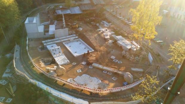 Freizeitpark Plohn Dynamite Baustelle Oktober 2018