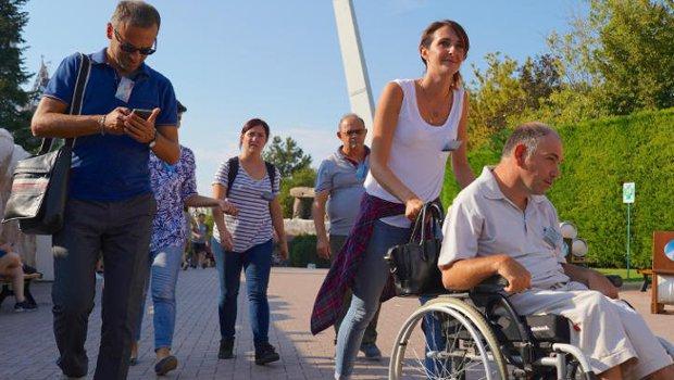 Gardaland Gäste mit Behinderung