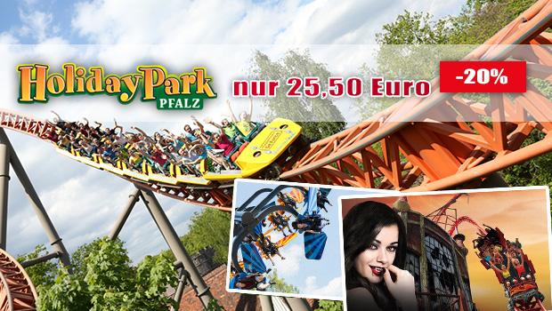 Günstige Holiday Park-Tickets 2019 mit Gutschein im Sommer