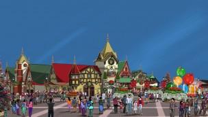 """Holiday World präsentiert """"Santa's Merry Marketplace"""" für 2019: Neuer Gastronomie-Standort im weihnachtlichen Stil"""