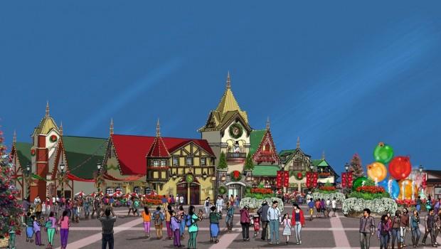 Holiday World Santas Merry Marketplace
