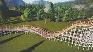 "Kentucky Kingdom eröffnet 2019 ""Kentucky Flyer"": Neue Holzachterbahn mit 12 Airtime-Momenten"