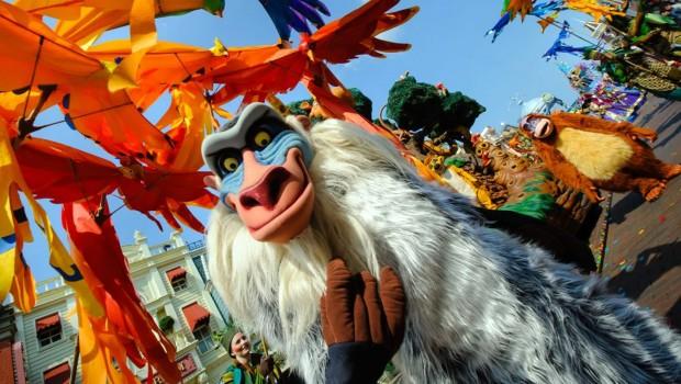 König der Löwen Disneyland Paris Parade
