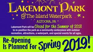 Lakemont Park Wiedereröffnung Frühling 2019