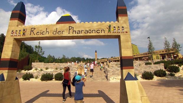 LEGOLAND Deutschland Reich der Pharaonen Eingang