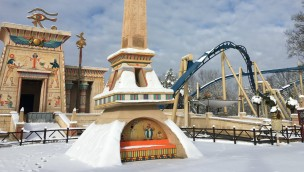 Parc Asterix Oziris Winter