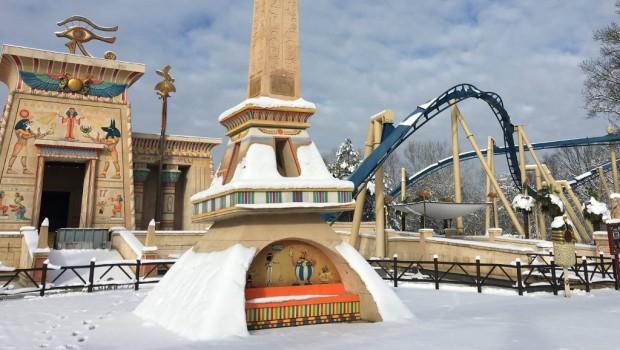 Parc Asterix Oziris Winter