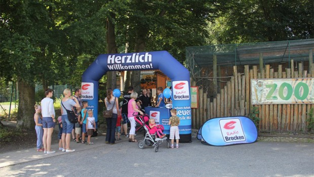 Radio Brocken Ferien For Free im Zoo Aschersleben