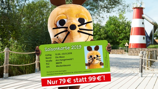 Ravensburger Spieleland 2019 Saisonkarte