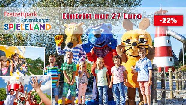 Ravensburger Spieleland Ticket-Angebot Gutschein-Rabatt