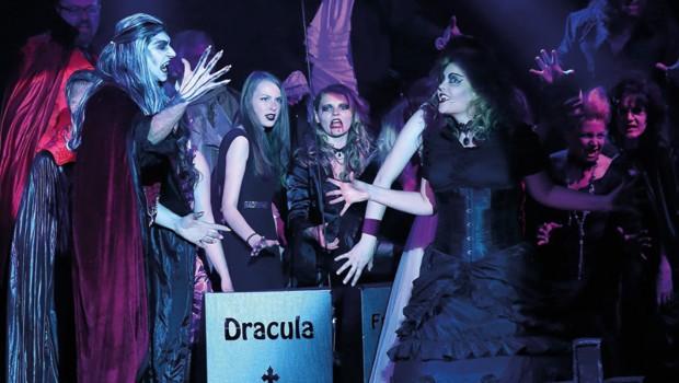 Skyline Park Grusel-Musical Höllennacht im Geisterschloss