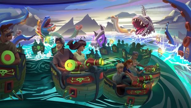 Tacumeon Rides Gamestormer MACK Seesturmbahn interaktiv