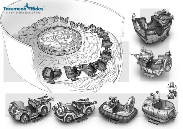 Tacumeon Rides gamestormer Vehicles Illustration