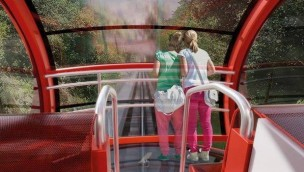 Tibidabo modernisiert historische Standseilbahn: Neues Design und mehr Komfort ab 2020