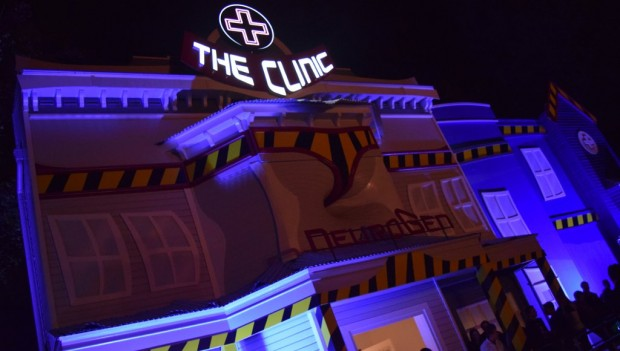 Walibi Holland Halloween Fright Nights The Clinic